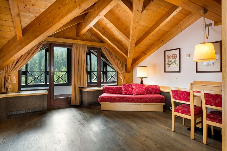 Modern apartments with a traditional style @ Residencehotel Ambiez in Madonna di Campiglio (TN). More info at: www.residencehotel.it