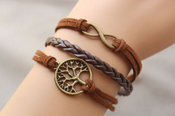 Wishing tree bracelet karma bracelet by fashionhealthylife on Etsy, $4.99