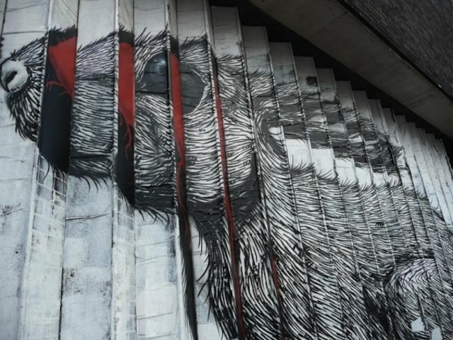 Really cool street art!