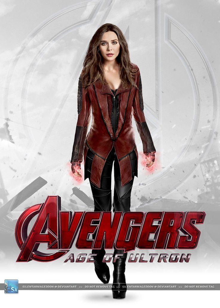 Avengers - Age of Ultron: Scarlet Witch (v. 2.0) by SilentArmageddon.deviantart.com on @DeviantArt