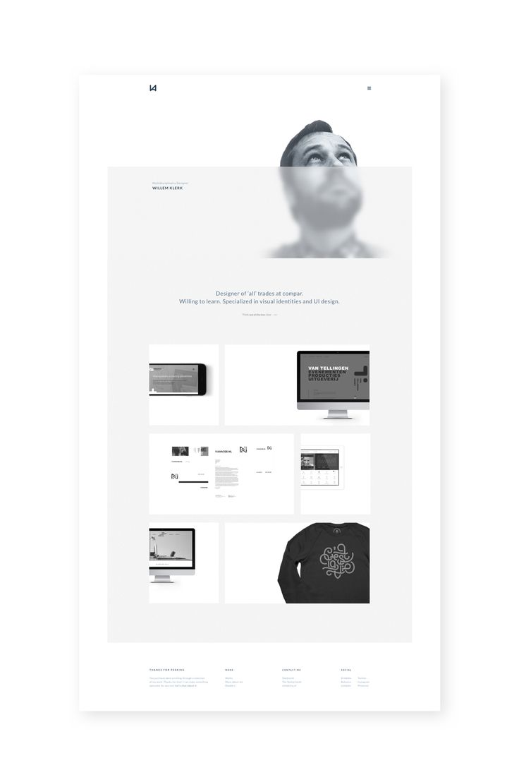 Launched my new portfolio website lately. Thanks a lot @Tobias van Schneider ▲▲▲ for this awesome system called semplice. I'm so glad i choose this one over all other platforms. Go check it out and...