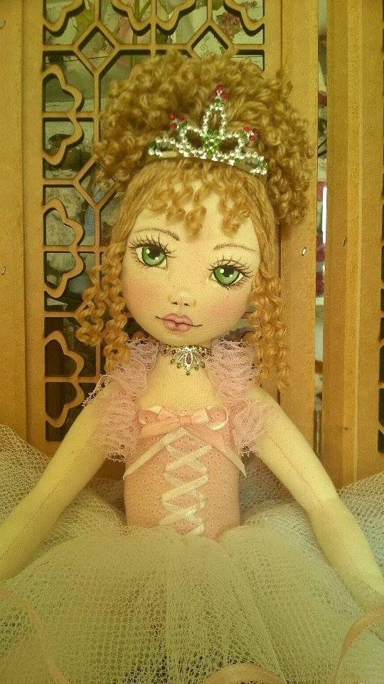 Bonecas de pano. Bailarina. Soraia flores