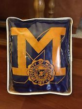 Vintage Pendleton Wool University Of Michigan Stadium Blanket, Tom Brady