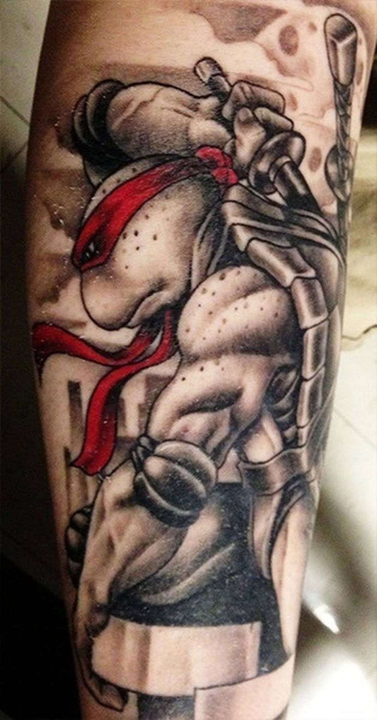 26 Awesome Tattoos Inspired by Teenage Mutant Ninja Turtles