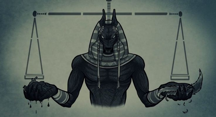 Anubis is the ancient Egyptian god of the embalming process and funeral rites. This god is also associated with protecting and guarding the dead. Anubis became the patron of lost souls, and funeral rites.