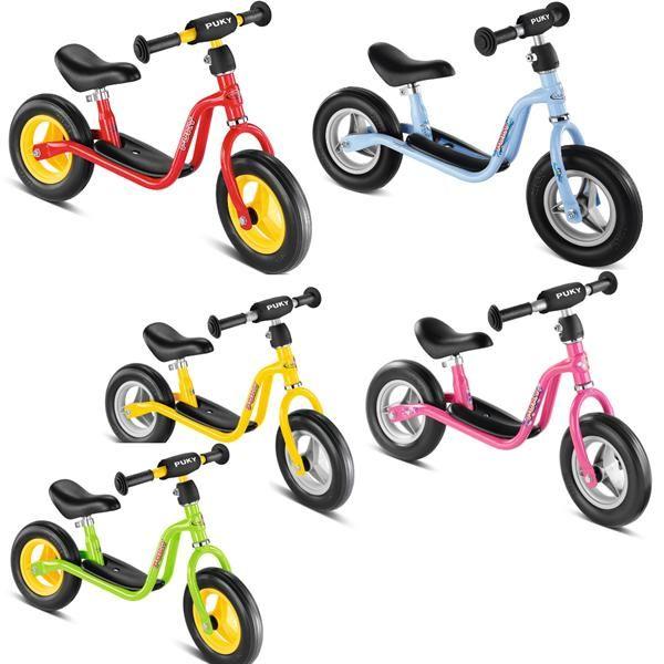 Puky løbecykel i str. medium. Den lette begynder cykel der hjælper dit barn med at træne balancen, så det lærer at cykle uden støtteben