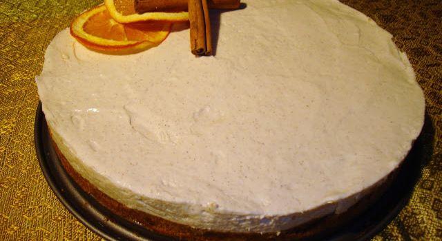 Jouluinen juustokakku