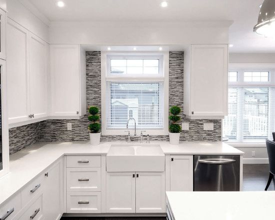133 best images about updating cabinets molding on for Replacing backsplash