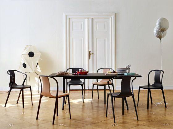 Belleville Table Belleville Armchair Wood Belleville Chair Leather