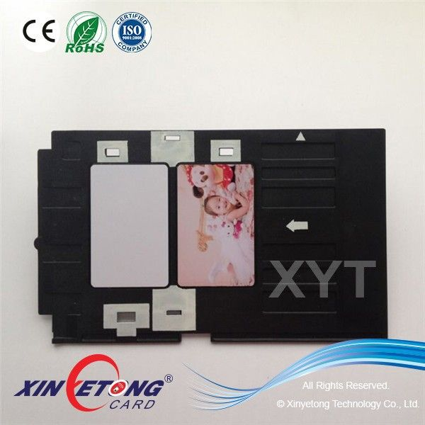 High quality PVC ID Card Tray For Epson Inkjet printer Artisan50, T50, R290,R330