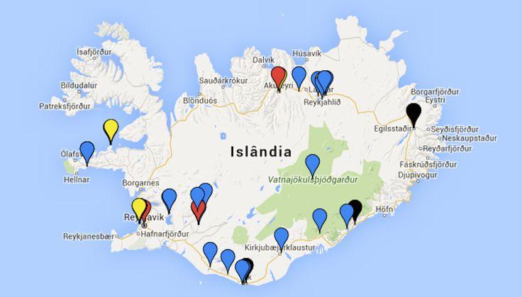 Meu roteiro: Islândia!   Danielle Noce