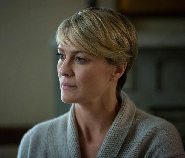 It's almost tempting to go short again now that my teeth are fixed....but no. Regardless, Robin Wright is stunning.