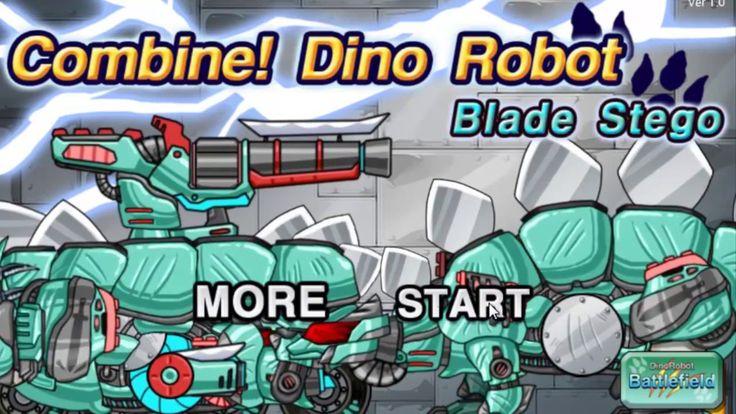 Robot Dinosaur Transformer game for children_Cartoons about cars