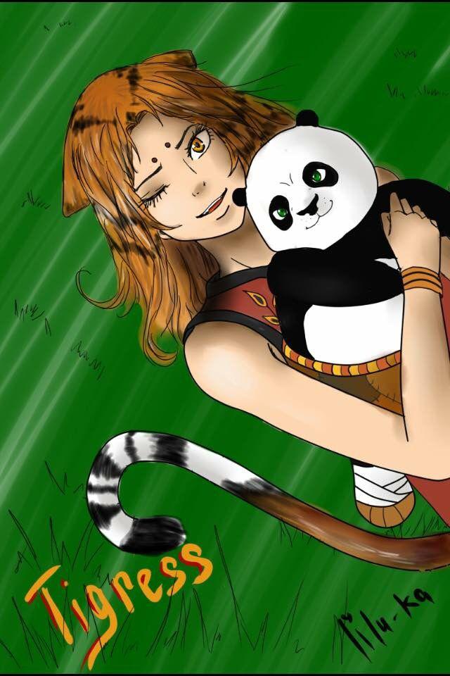 Pin on Tigress and Po TiPo