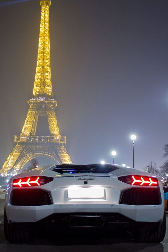 Lamborghini And Eiffel Tower Eiffel Tower Pinterest Towers Paris And Eiffel Towers
