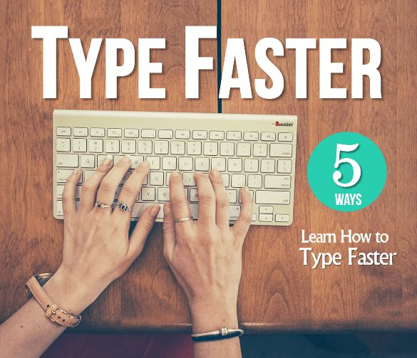 How to Type Extremely Faster: 5 Tips to Master the Keyboard  Learn to type, Typing skills