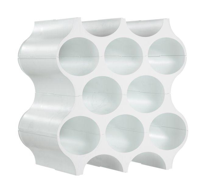 Koziol Wijnrek Set-up - Wit     Wijnrek voor handdoeken gebruiken