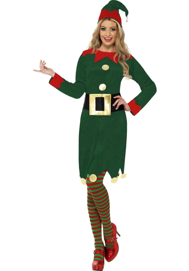 Lady Elf Costume, Female Elf Christmas Fancy Dress - Christmas Costumes at Escapade™ UK - Escapade Fancy Dress on Twitter: @Escapade_UK