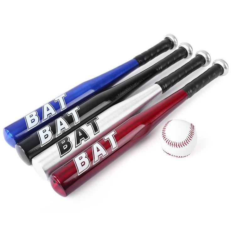 1 Шт./компл. BAT 20 Дюйм(ов) Бейсбольной Битой Профессиональный Алюминиевый Сплав Мягкой Бейсбольной Битой Для Взрослых Практика Бейсбол Спорта На Открытом Воздухе