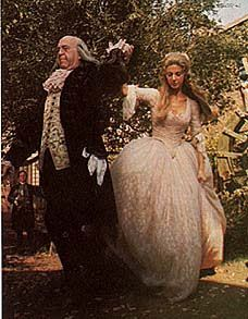 "1776 Movie costumes | The scene below is Martha Jefferson's love song, ""He Plays the Violin ..."