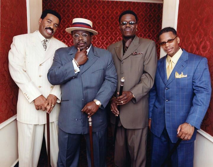 The Original Kings of Comedy Steve Harvey, Cedric The Entertainer, Bernie Mac, D.L. Hughley