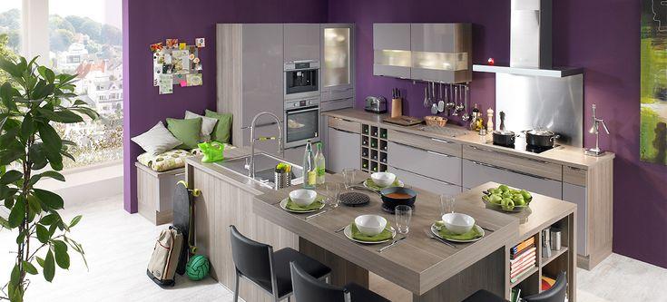 Cuisine ixina soho3 coin repas et biblioth que maison for Cuisine stockholm darty