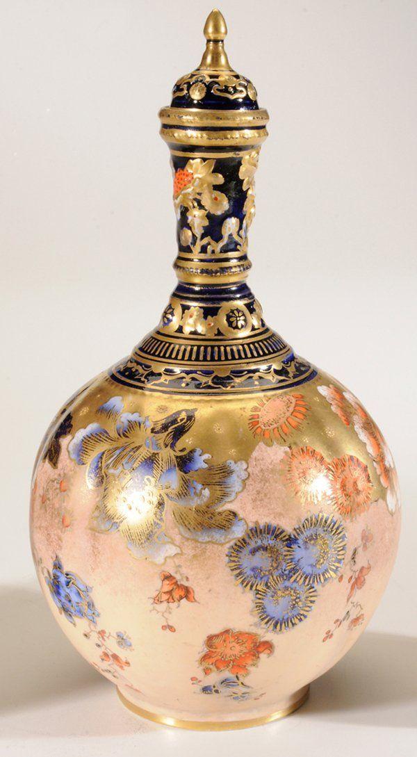 Coalport Perfume Bottle.