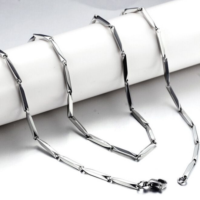 Find More Chain Necklaces Information about 3mm 20 24inch Mens Boys Girls Silver Tone Link Necklace Stainless Steel Chain Gift Wholesale Price All Match,High Quality gifts paradise,China match holder Suppliers, Cheap match product from NIBA Jewelry  on Aliexpress.com