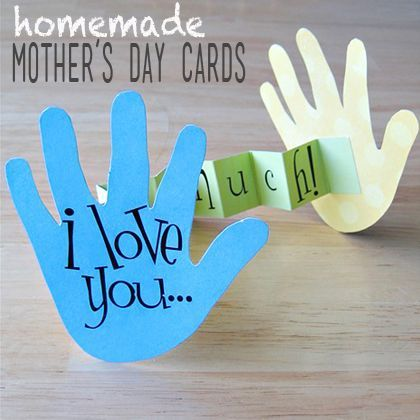 15 Cute DIY Mother's Day Cards For Kids - DIY & Crafts For Moms