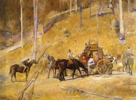 Tom Roberts' Bailed Up.