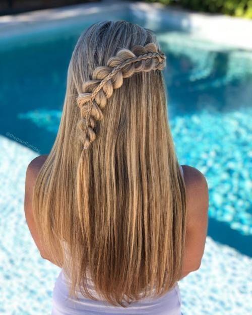 20 Party Frisuren für langes Haar #frisuren #langes #party