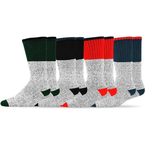 d04ab0cf58a0f Color Heel Top 4pk (Women and Men) | mens socks | Wholesale socks, Socks,  Men