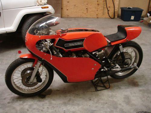 Harley Davidson: 1974 Harley-Davidson RR350