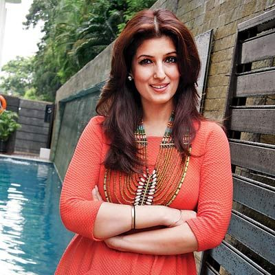 Twinkle Khanna Is An Actress Film Producer Interior Designer And Also The Wife Of Leading Actor Akshay Kumar She Daughter Bollywoods