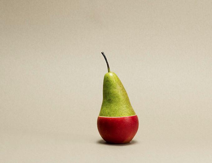 Голландский фотограф Рене Месман (Rene Mesman) делает снимки в стиле натюрмортов.