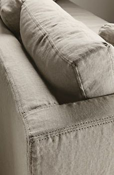 Gorgeous slip cover sofa from Room and Board... check it out!