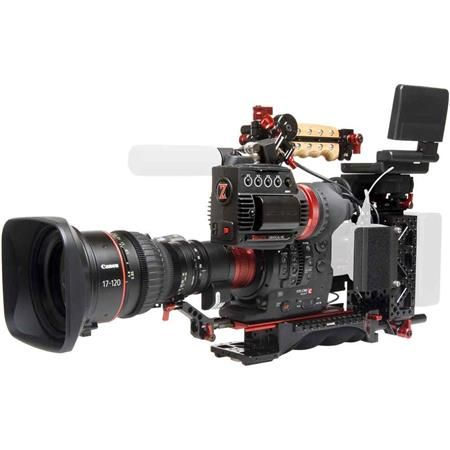 EOS C300 Mark II Zacuto ENG Package with 17-120mm T2.95 EF Lens #zacuto