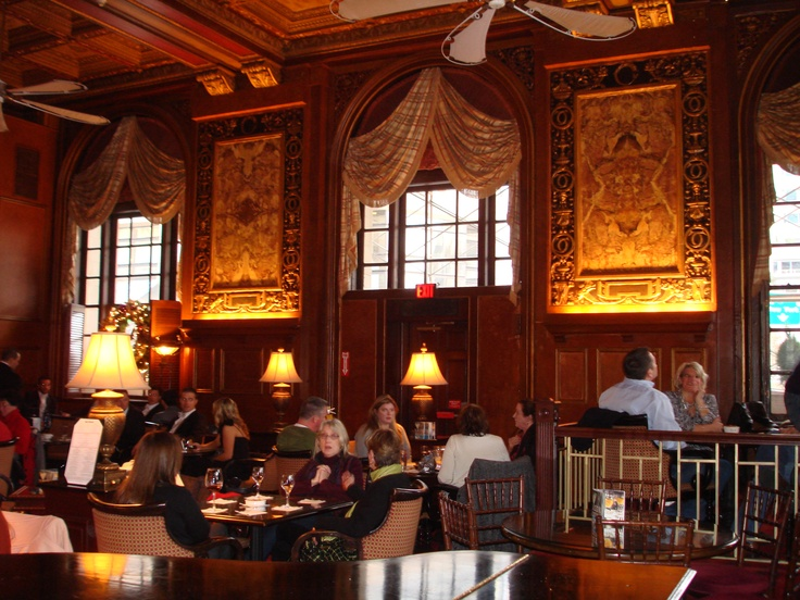 Can't go to Boston without having a drink at the Oak Bar at the Copley Plaza Hotel.