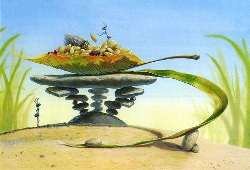 Economic concept in bugs life