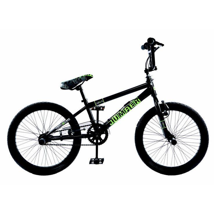 BMX Freestyle noir et pas cher pour ados ou adulte