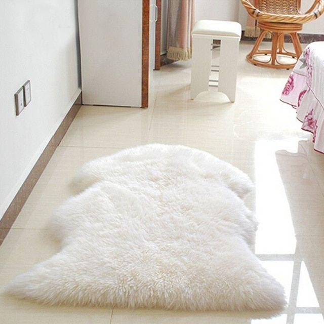 Stunning Wool Carpet For Bedroom Enhancing Beauty Rugs On Carpet Faux Sheepskin Rug Fluffy Rug