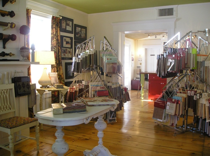 American Home Gallery Showroom Fabric Library ShowroomUpholsteryLibraries