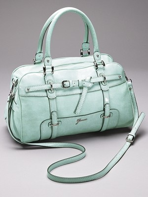 Guess Avera box satchel