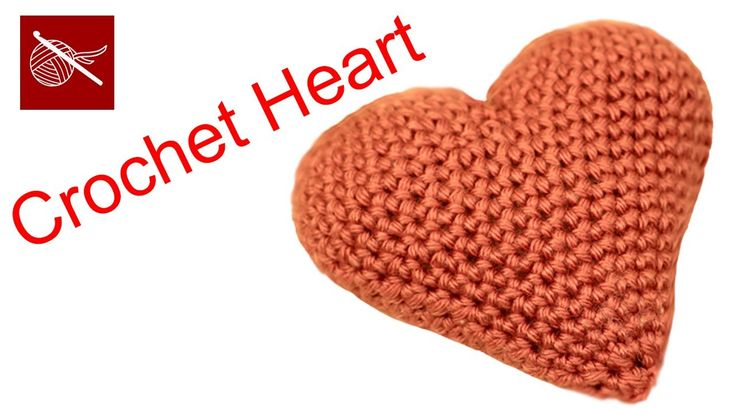 How to #Crochet a Valentine Puffy Heart - Small Crochet Geek - how to crochet video