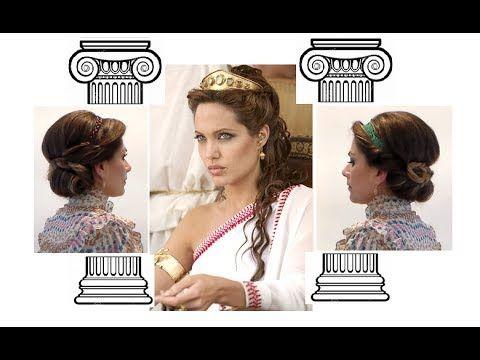 Capelli...da DEA GRECA! - Greek goddess inspired hairstyles - YouTube