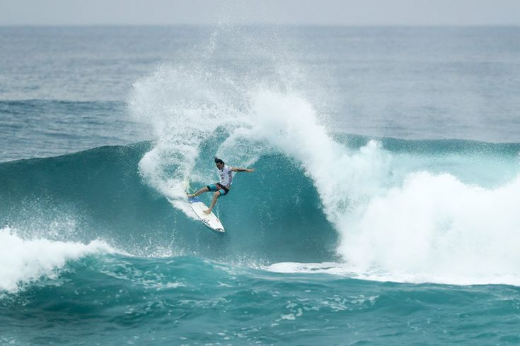 The South African won his second event of the season. Frederico Morais secured a spot on the 2017 Championship Tour and leads the Triple Crown of Surfing.