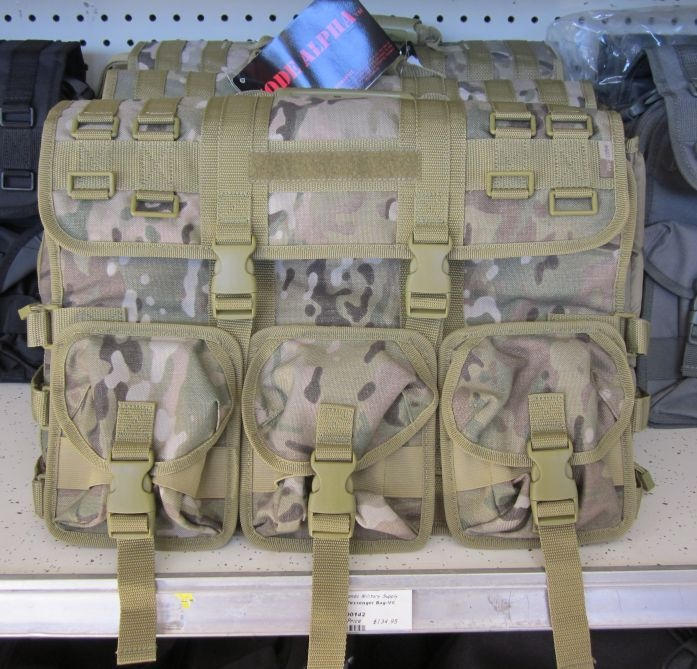 Code Alpha bag at Commando Military Supply.