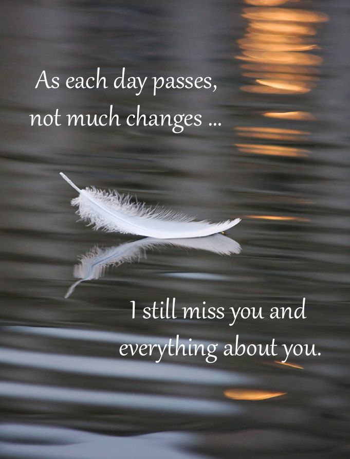 As each day passes ...