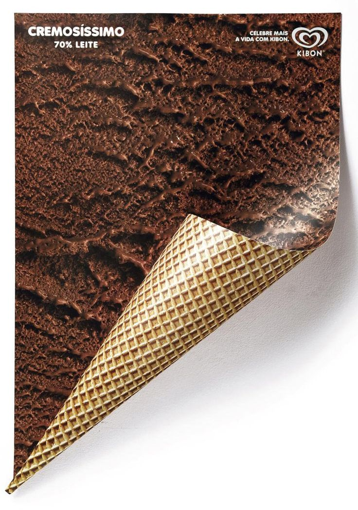 ice cream posters for kibon #ad #print
