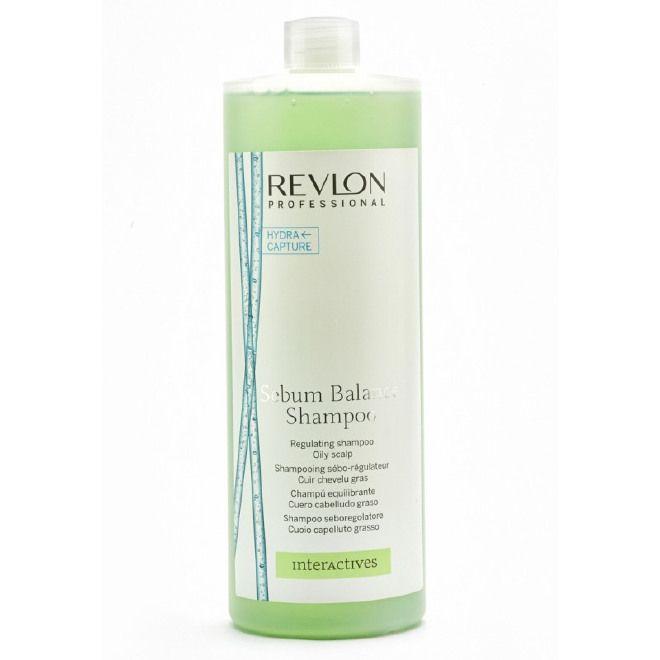 Descrizione :  SEBUM BALANCE SHAMPOO 1250ml  INTERACTIVES REVLON PROFESSIONAL  Shampoo seboregolatore per cuoio capelluto grasso.  LINEA: SCALP BALANCE - IDRATAZIONE RIEQUILIBRANTE  IDEALE PER: Capelli grassi, spenti, trasandati,  cuoio capelluto congestionato ed irritato dall'accumulo di sebo.  AZIONE  Una formulazione delicata che purifica il cuoio capelluto e regola la produzione di sebo.